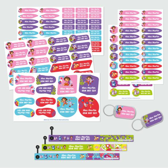 Dora the Explorer ID Bracelet Pack