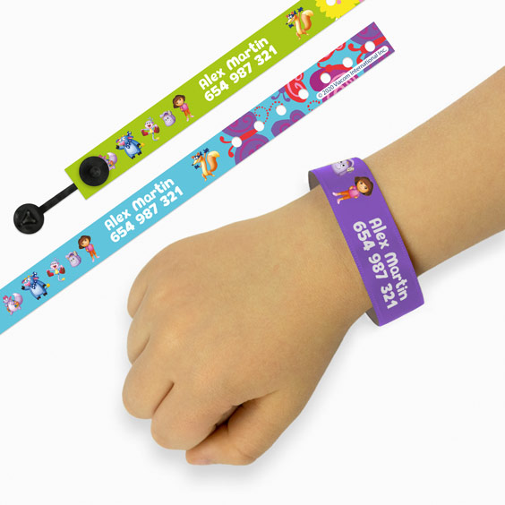 Dora the Explorer ID Bracelets