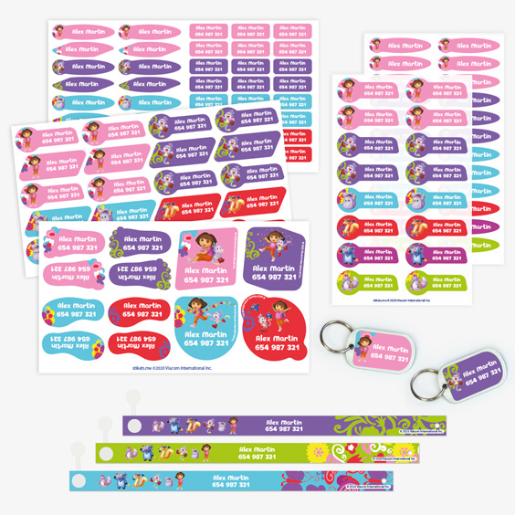 Dora the Explorer Hanging Loop Pack