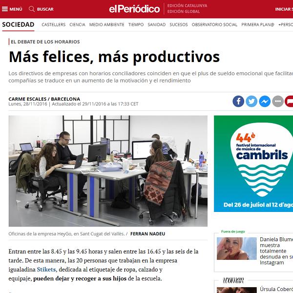 Más felices, más productivos