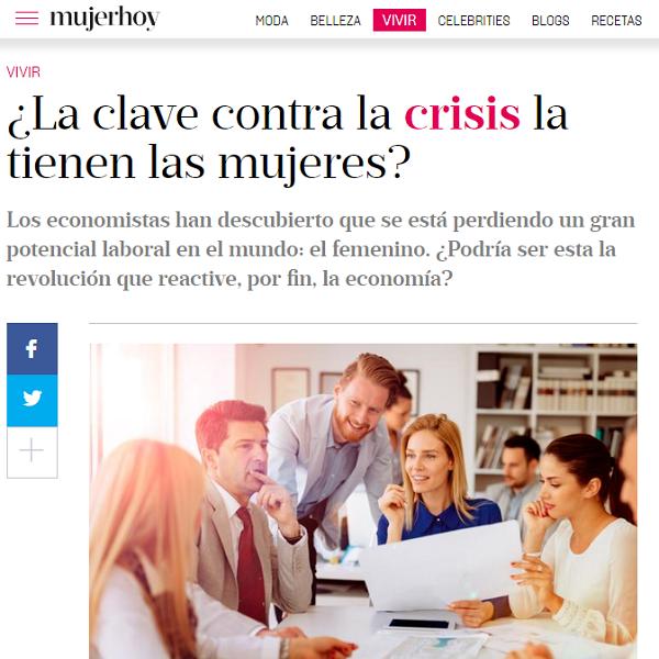 ¿La clave contra la crisis la ...