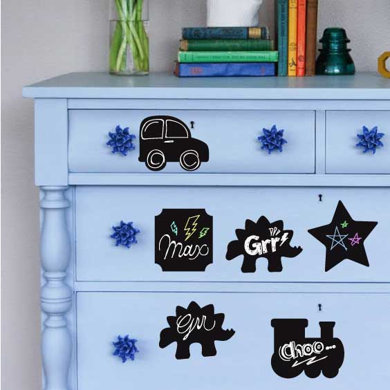 Chalk Label Decal Collection 3