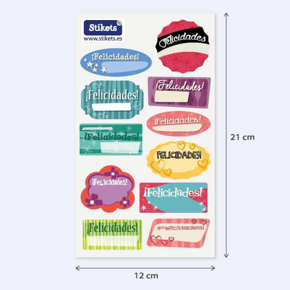 Congratulations Labels. Model B