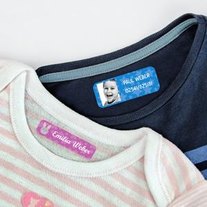 Kleidungsetiketten