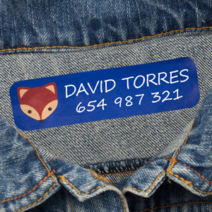 Large Iron-On Clothing Labels