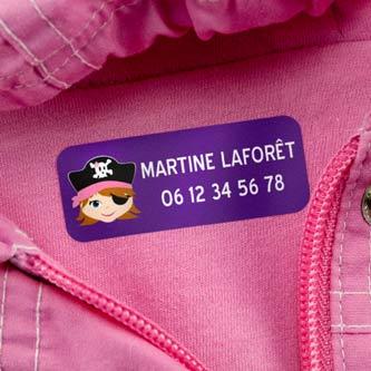 Etiquettes Vêtements Moyennes