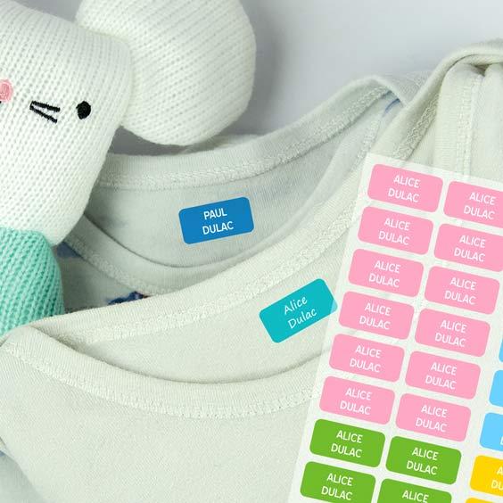 Etiquettes Vêtements Mini
