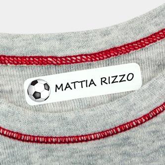 Etichette termoadesive piccole per vestiti