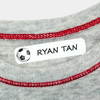 Small Iron-On Name Labels
