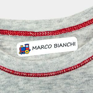 Etichette termoadesive per vestiti