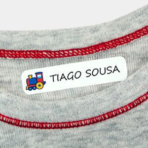 Etiquetas para roupa Pequenas