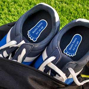 Klasické štítky do bot