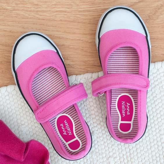 Navnemærker til skosåler