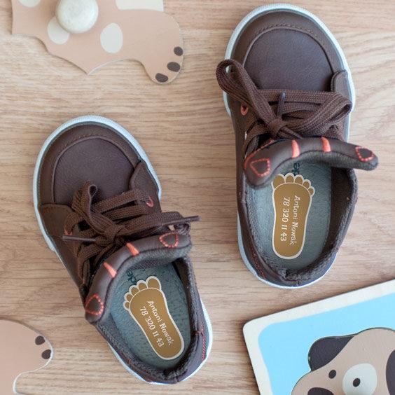 Klasyczne nalepki do butów