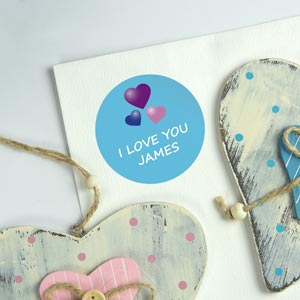 Personalized Round Gift Labels