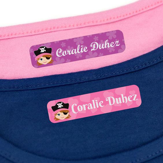 Etiquettes Vêtements Petites