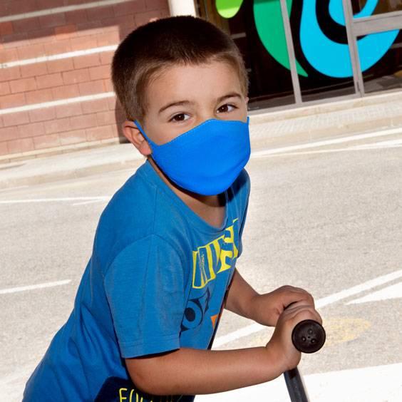 Mascareta per a nens de 3 a 5 anys + pack de 10 filtres