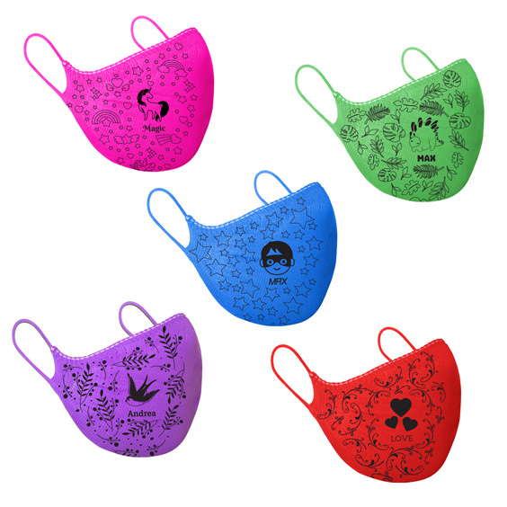Masque de protection adultes + recharge de 10 filtres papier