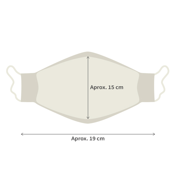 Máscara para adultos + Pack de 10 filtros