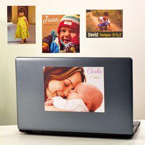 Foto autocolantes personalizadas