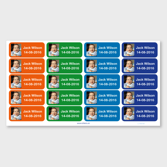 Medium Photo Sticky Labels