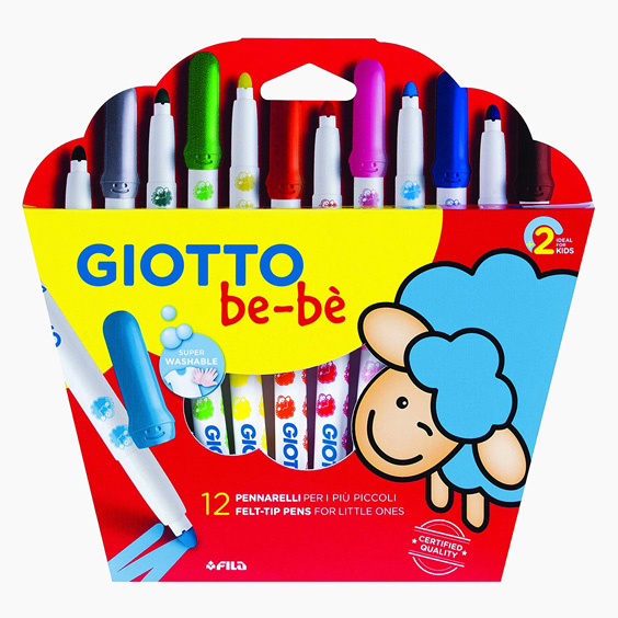 Giotto Be-bè colored markers