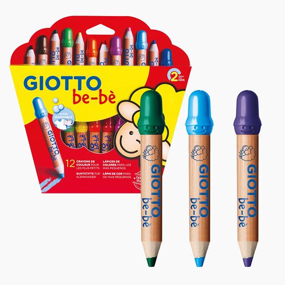 Llapissos de colors Giotto Be-bè