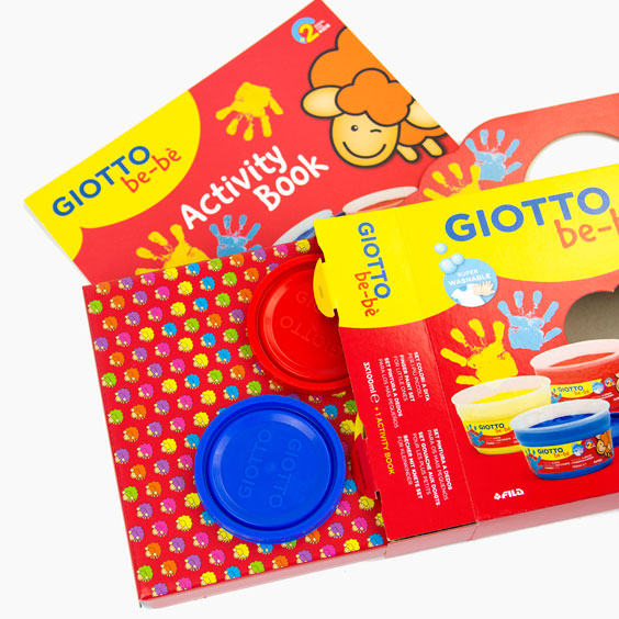 Giotto Be-Bè Children's Finger Paints