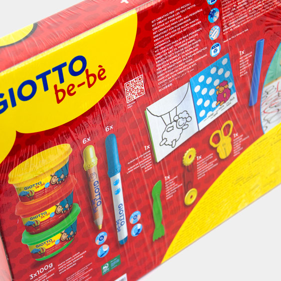 Giotto Be-bè Set for Painting, Playing and Modeling