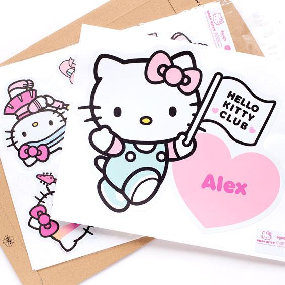 Hello Kitty Custom Wall Sticker
