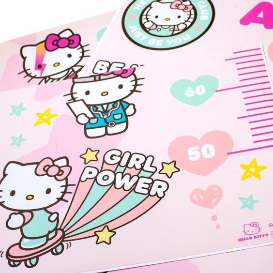 Hello Kitty Custom Growth Chart