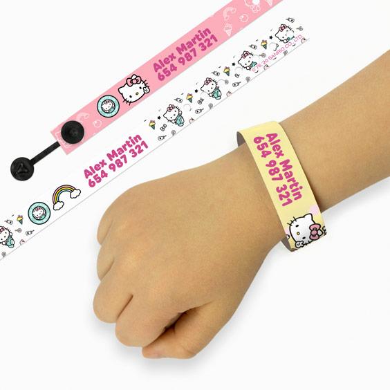 Hello Kitty ID Bracelets