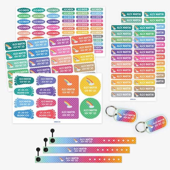 Pack Bracelets imprimés