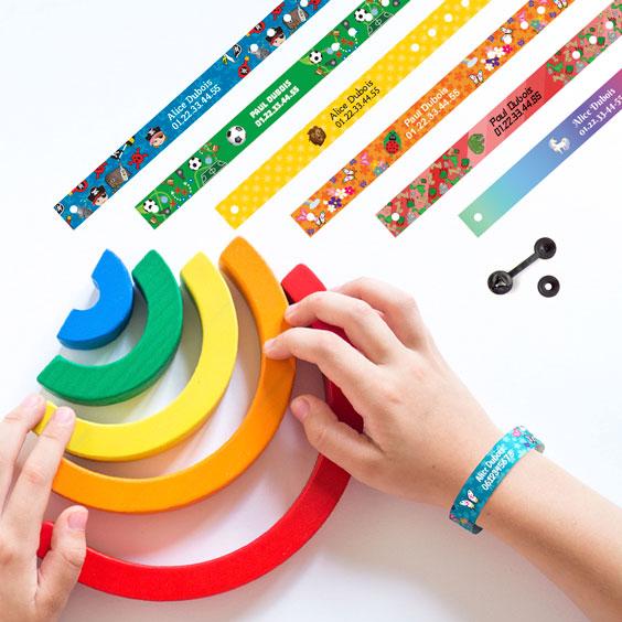Bracelet Identification Enfant