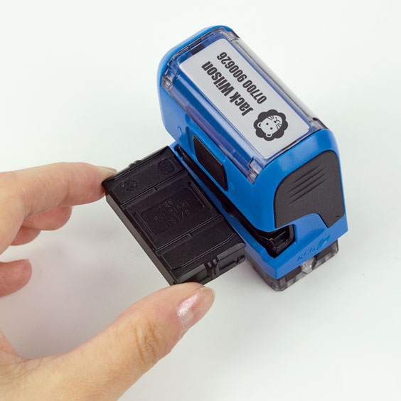 Cartridge For Stikets' Rectangular Stamp