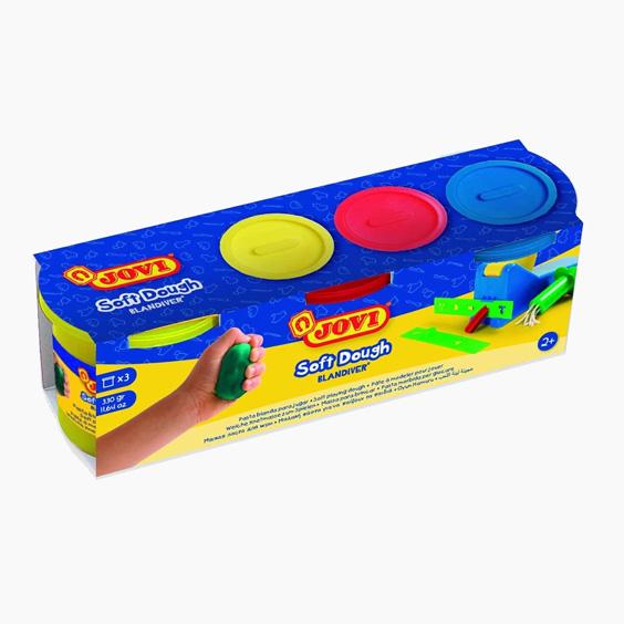 Jovi soft play dough set for children