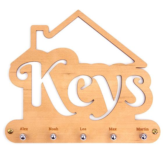 Custom Keyring Hanger