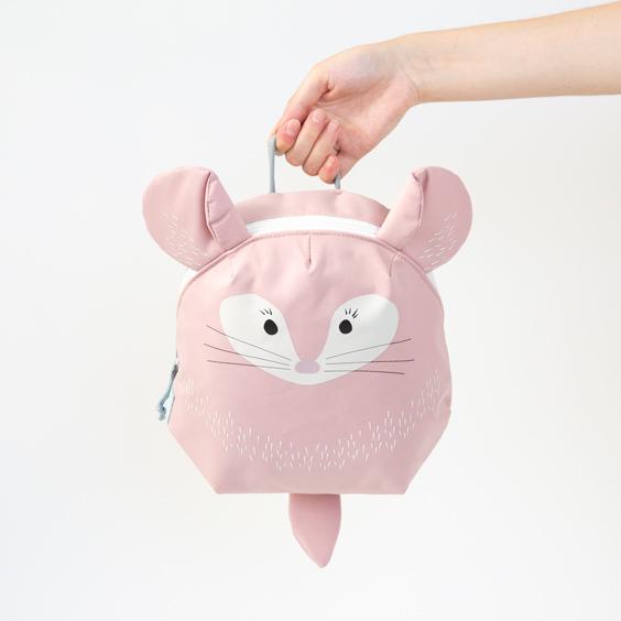 Mini-Rucksack Chinchilla Lässig