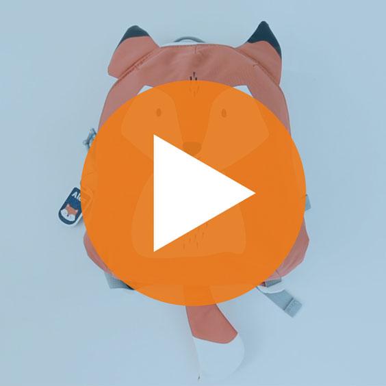 Small Fox Lässig Backpack