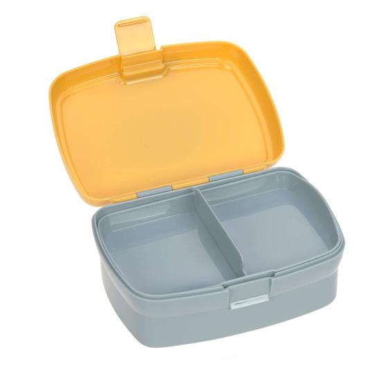Zestaw pudełko śniadaniowe i butelka Lässig lew