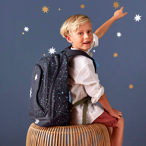Magic Blue Bliss Lässig Backpack