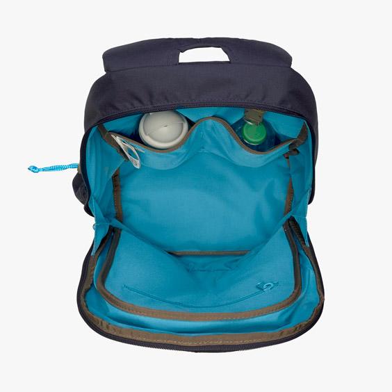 Magic Blue Bliss Lässig Backpack