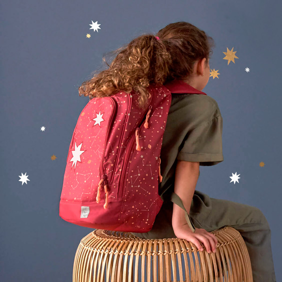 Magic Pink Bliss Lässig Backpack