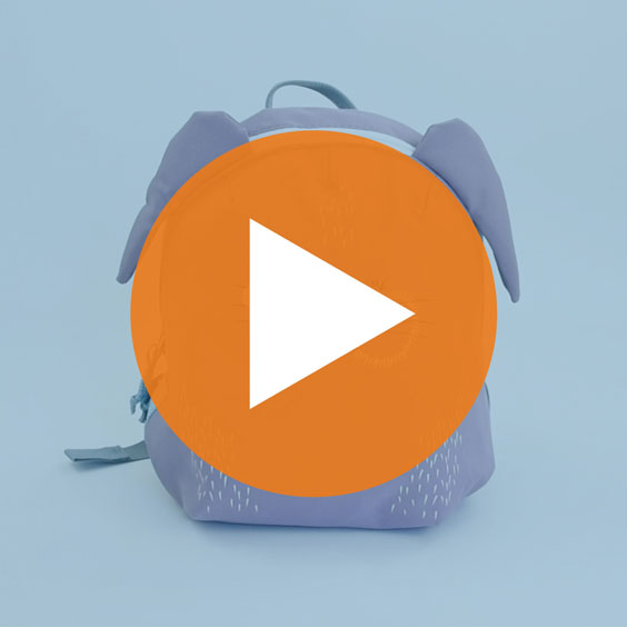 Mini motxilla Conillet de Lässig