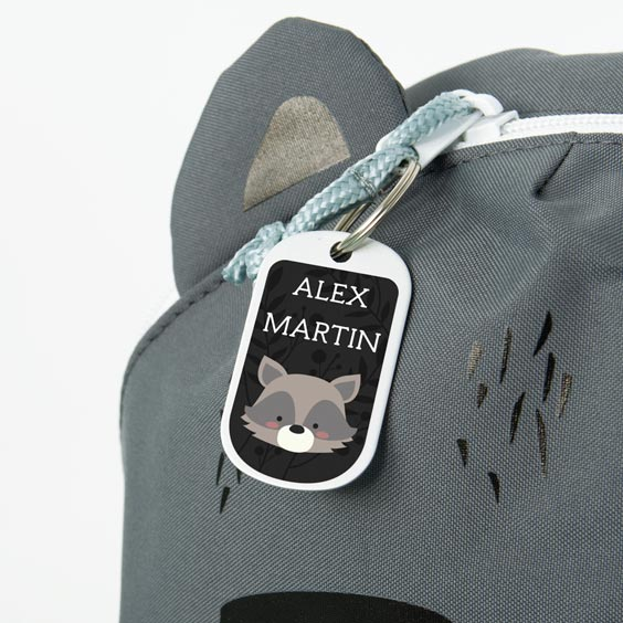 Mini Raccoon Lossig Backpack