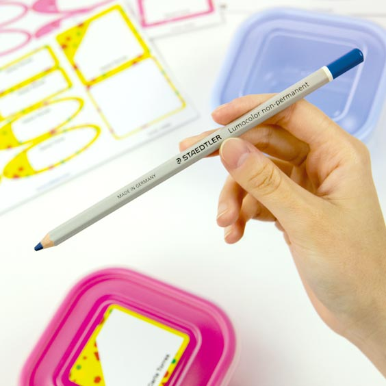 Pencil for Write-On Lunch Box labels