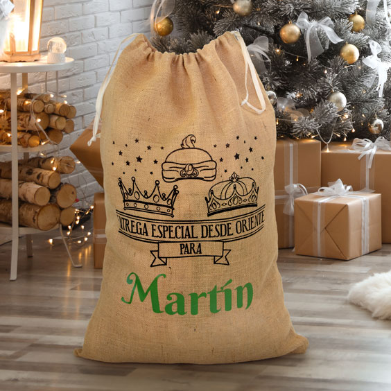 Large Personalized Magic Kings Gift Bag