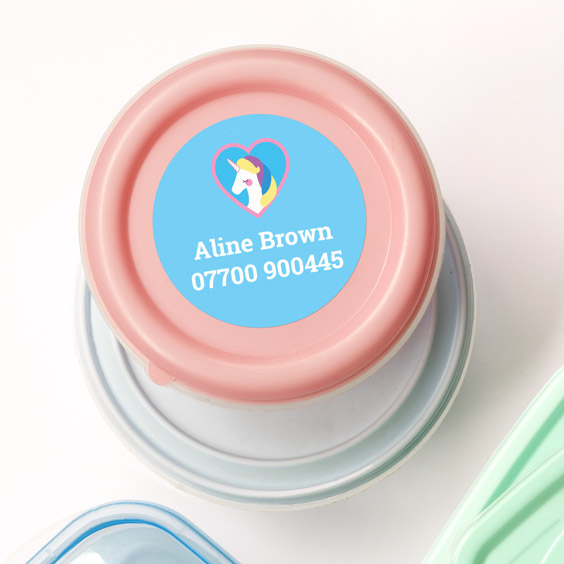 Large Round Stickers