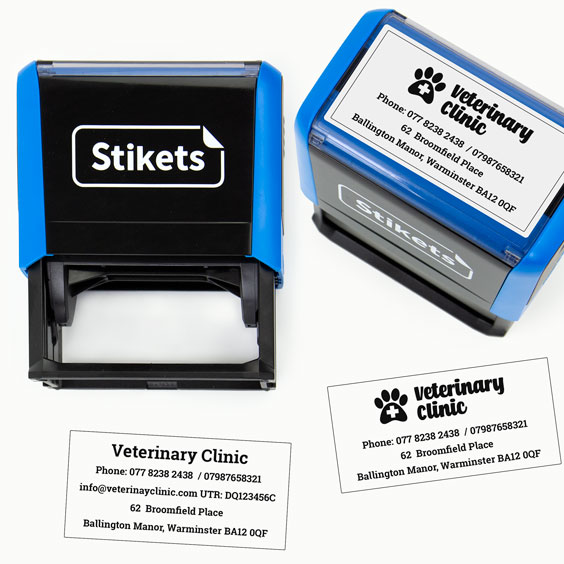 Large Self-inking Stamps for Companies