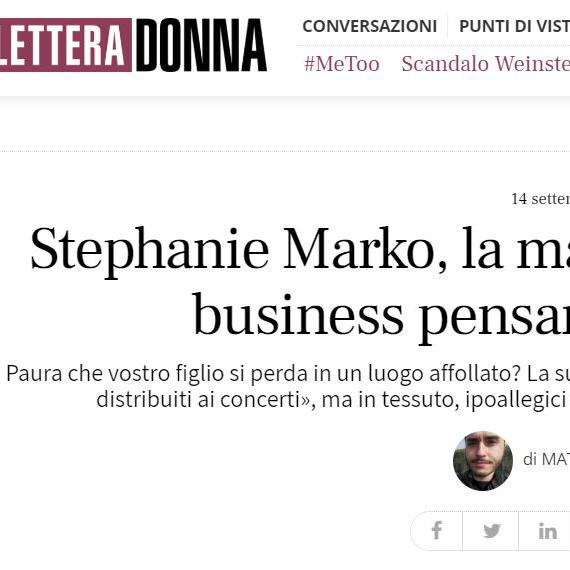 Stephanie Marko, la mamma ...